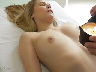 After blowing balls and dick lusty nympho Carolina Sweets wanna be poked