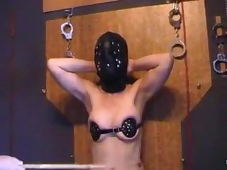 Extreme humiliation and punishment for the mature slave from Munich.