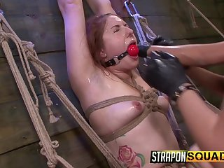 Kinky and nasty Rose Red likes to play all lesbian sex games in a group