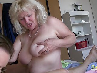 Raunchy Milfs Playing with Hardened One-Eyed Snake