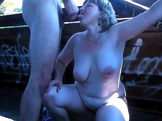 Hairy euro amateur porn Mommy public lovemaking